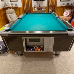 United Billiards Coin Operated Pool Table